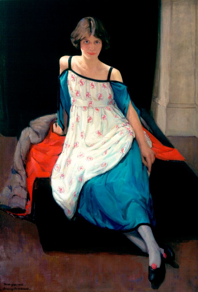 Anne Finlay by Dorothy Johnstone Aberdeen Art Gallery and Museums Collection