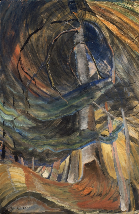 Emily Carr, Tree spiralling upwards