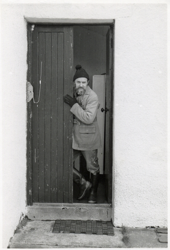 51_Jon_Schueler_door_of_Romasaig_Mallaig_Dec70