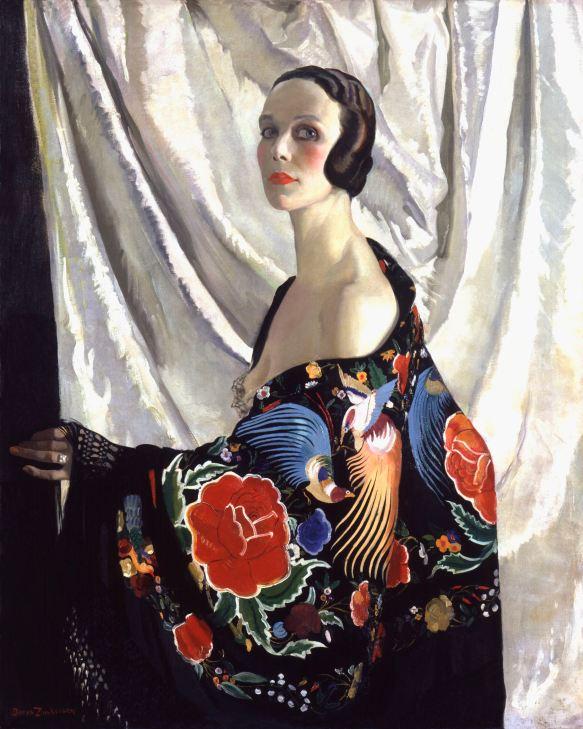 Self-portrait (Mrs Grahame Johstone), c.1929