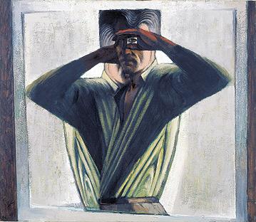 Howard Taylor Double Self Portrait 1959